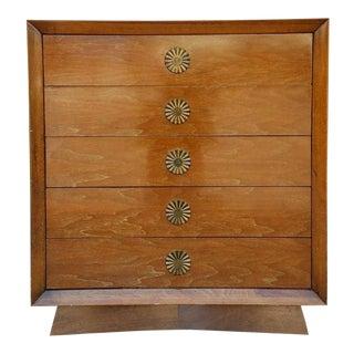 Vintage Unique Chest of 5 Drawer Dresser