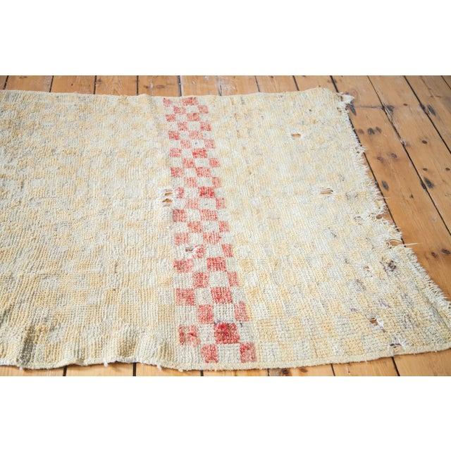 "Vintage Tulu Square Rug - 3'4"" x 3'9"" - Image 2 of 5"