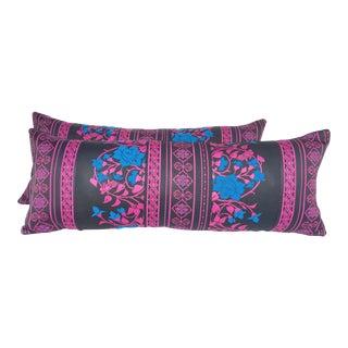 Japanese Obi Lumbar Pillows- A Pair