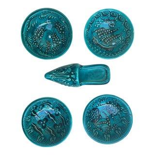 Turquoise Bowl Set