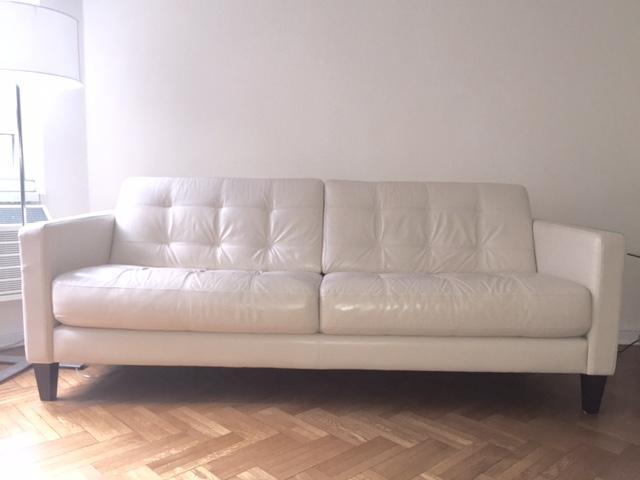 Macyu0027s Milan Leather Sofa   Image 2 ...