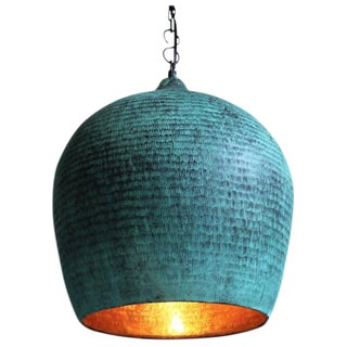 Green Copper Gentong Lantern
