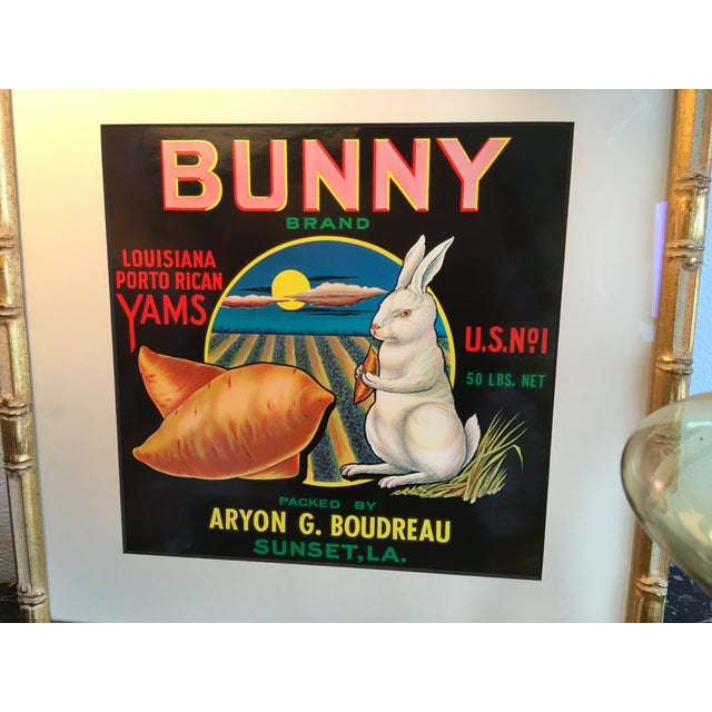 1940s Bunny Brand Yams Crate Label - Image 4 of 4