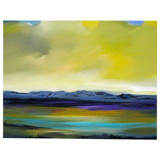 Jerome Gastaldi Painting - Amber Sky