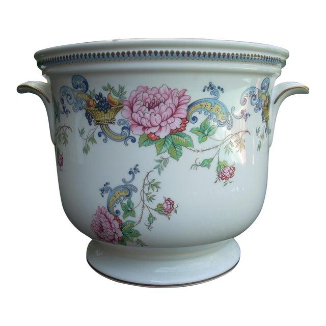 Vintage Staffordshire Crown Cachepot - Image 1 of 4