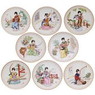 Edward Marshall Boehm Art Plates - Set of 8
