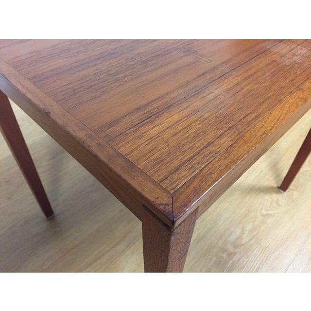 Silberg Mid-Century Danish Teak Side Table - Image 6 of 8