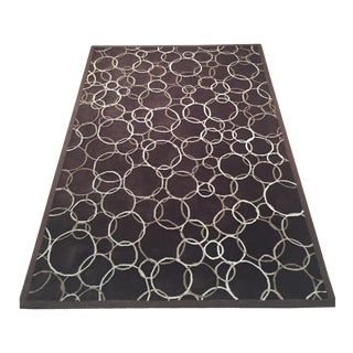 1990s Monique Savarese for Dialogica Modernist Rug -
