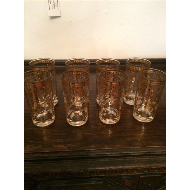 Culver Chantilly Highball Glasses - Set of 8 - Image 2 of 3