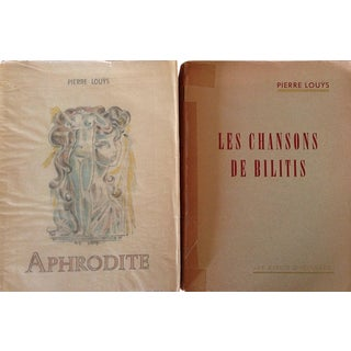 French Erotica Books by Pierre Louys - A Pair