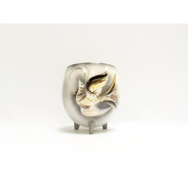 Mid-Century Sascha Brastoff Firebird Vase, Signed - Image 3 of 9
