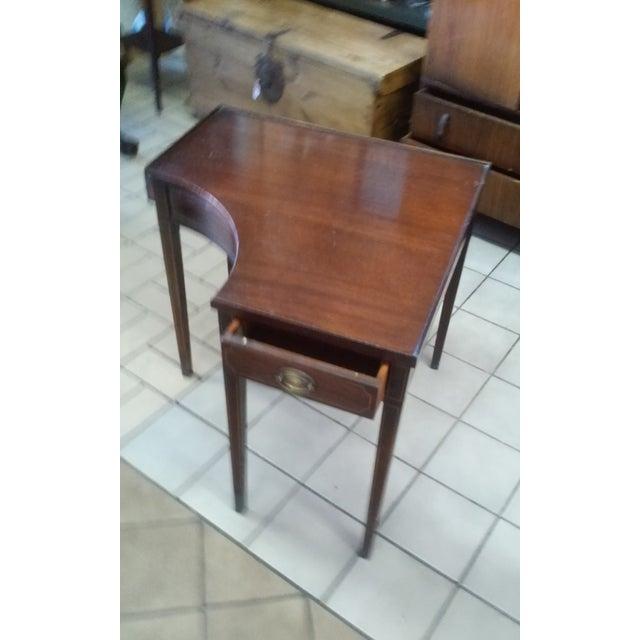 Vintage Corner Side Table - Image 3 of 4