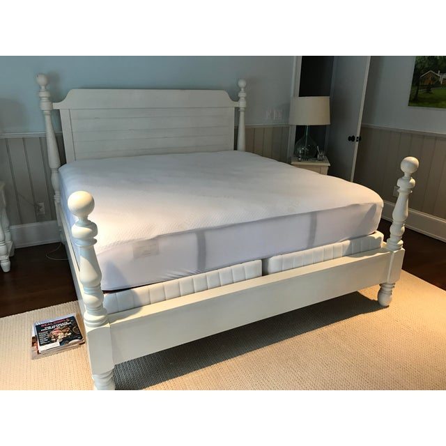 Pottery Barn King Size Caroline Bed - Image 3 of 3