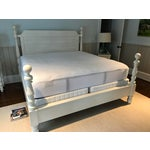 Image of Pottery Barn King Size Caroline Bed