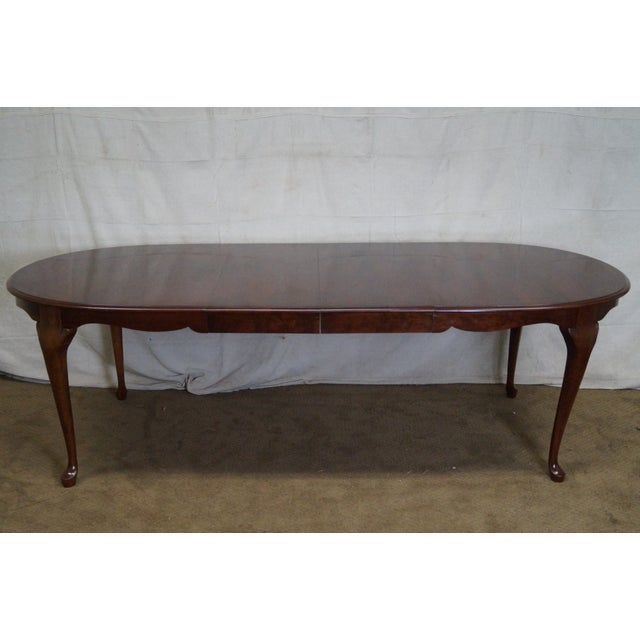 Pennsylvania House Solid Cherry Oval Queen Anne Dining