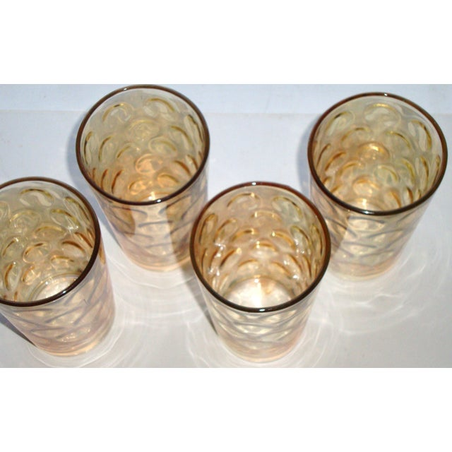 Mid-Century Hollywood Regency High Ball Glasses - Image 10 of 11