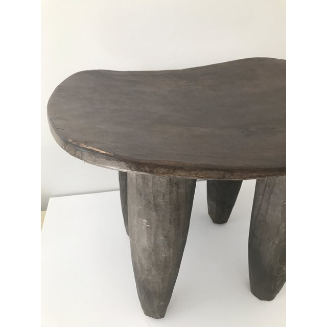 African Carved Senufo Stool - Image 7 of 9