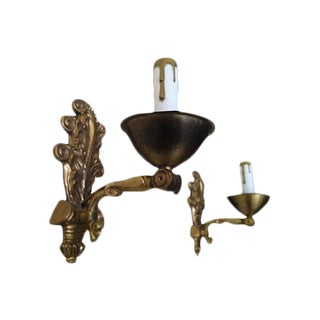 Early-1900s Swedish Sconces - A Pair