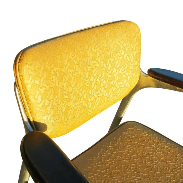Aluminum Gazelle Armchairs by Shelby Williams -S/4 - Image 10 of 10