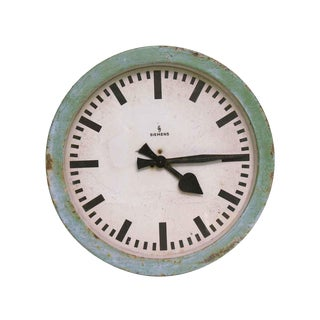 European Clock Face by Siemens