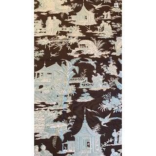 Quadrille China Seas Chinoiserie Fabric - 1.375 Yards