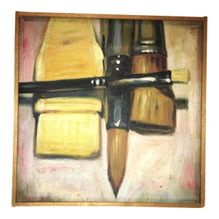 Artists Brushes Oil Painting