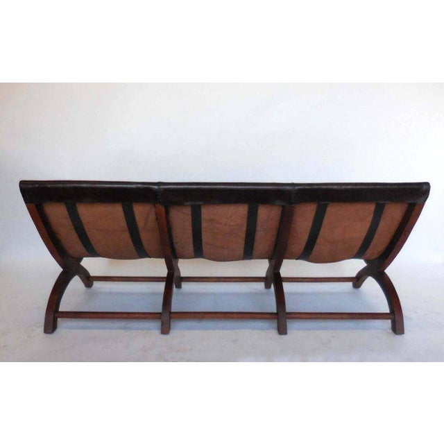 Leather Butaca Sofas - Image 7 of 9