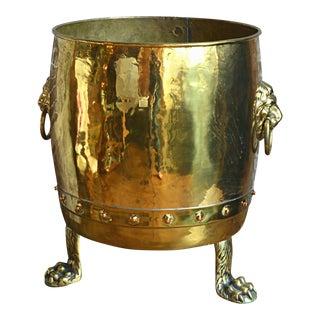 English Regency Brass Jardiniere