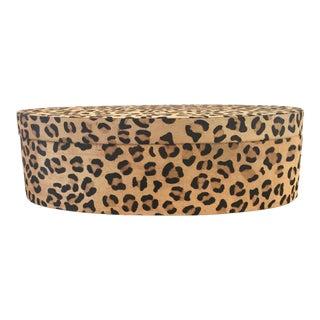 Leopard Printed Cowhide Box