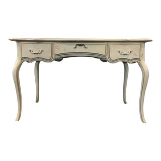 Ethan Allen French Provincial Painted Wood Desk