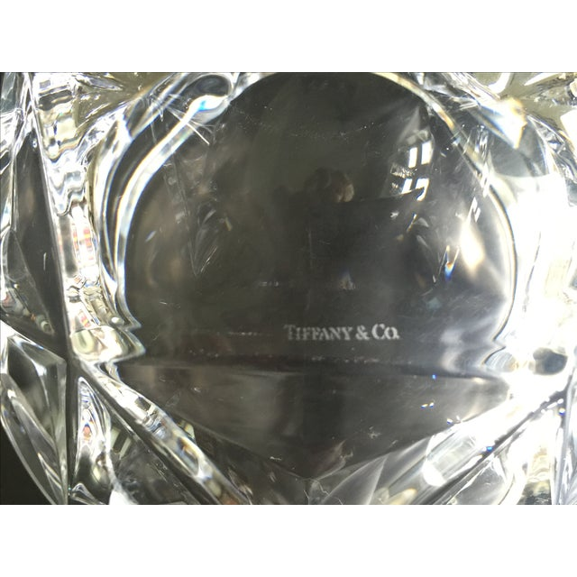 Tiffany Cut Crystal Bowl - Image 4 of 4