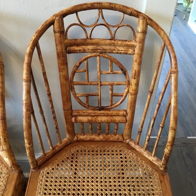 Vintage Brighton Chinese Chippendale Chairs - A Pair - Image 2 of 11