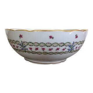 L. Bernardaud Limoges Porcelain Serving Bowl