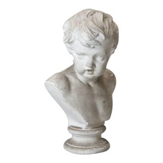 Plaster Bust of Young Boy