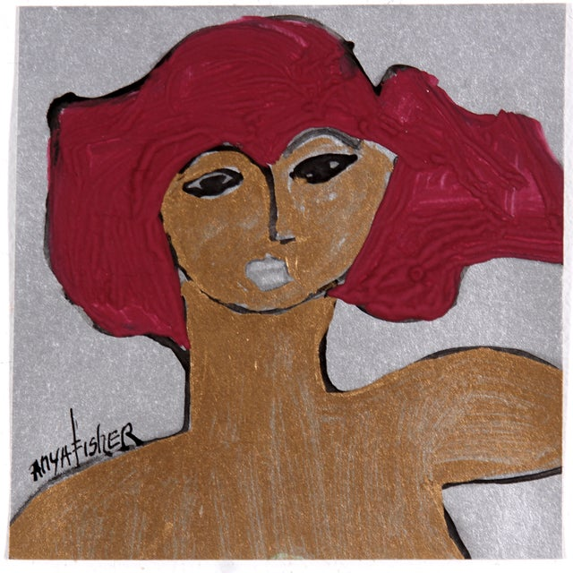 Abstract Portrait of a Woman - Image 1 of 2