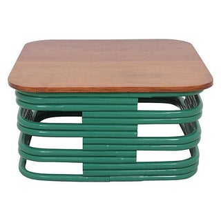 Bentwood Coffee Table in Emerald