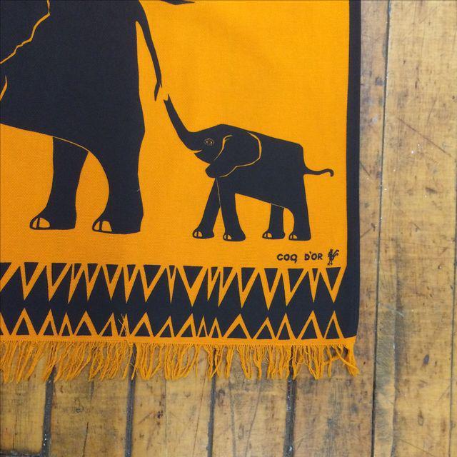 Vintage Silkscreen Wall Hanging - Image 7 of 7