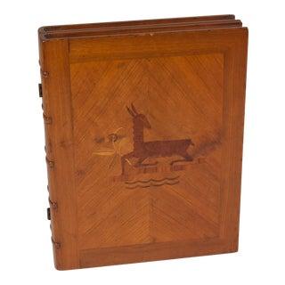 Austrian Marquetry Hinged Box