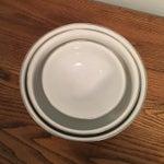 Image of Floral Print Enamel Mixing Bowls - Set of 3