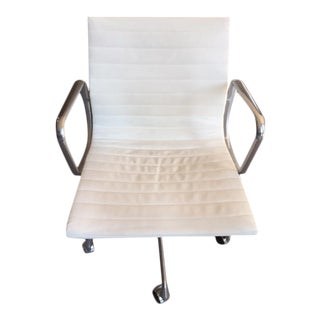 White Eames Management Chair