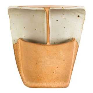 Large Studio Ceramic Sconces by Secrest Brothers