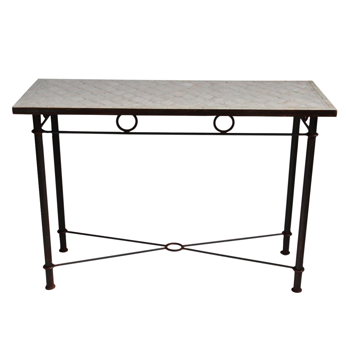 Superb Mosaic Console Table