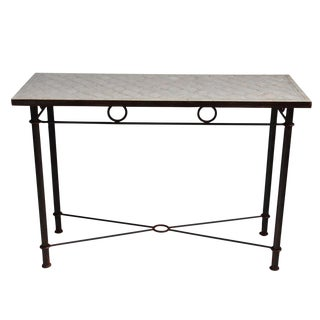 Mosaic Console Table