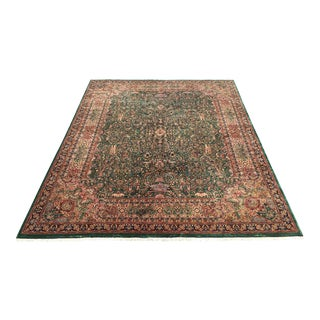 Handknotted Four Seasons Area Rug - 15.8 x 11.10