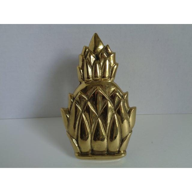 Image of Brass Pineapple Door Knocker