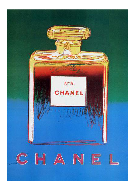 Andy Warhol Chanel No. 5 Poster (4 Colors)