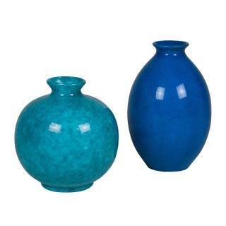 Two Continental Ceramic Vases, 1930s