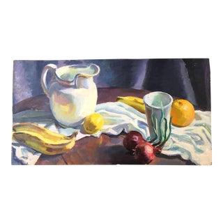 Still Life of Table Oil on Board