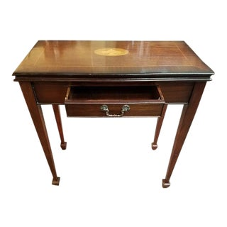 1950s Mahogany Card / Console Table