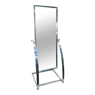 Milo Baughman Modernist Full Length Mirror